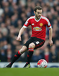 Juan Mata of Manchester United during the Barclays Premier League match at Old Trafford. Photo credit should read: Philip Oldham/Sportimage