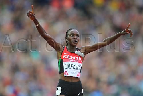 29.07.2014. Glasgow, Scotland. Glasgow Commonwealth Games. Women's 10,000M Final. Joyce Chepkirui Wins the Women's 10,000M Final at Hampden Park as part of the 2014 Commonwealth Games in Glasgow.