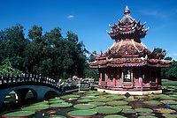 Worlds largest open museum, The Ancient City in Samut Prakan, Thailand