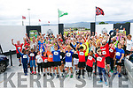 Enjoying the St Brendan's Park FC  5K run and family fun day at Christy Leahy Park on Sunday