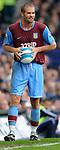 Olof Mellberg of Aston Villa during the Premier League match at Goodison Park  Stadium, Liverpool. Picture date 27th April 2008. Picture credit should read: Simon Bellis/Sportimage