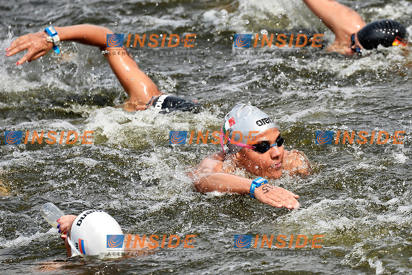 Martina Grimaldi Italia Gold Medal <br /> Open Water 25Km <br /> 32nd LEN European Championships  <br /> Berlin, Germany 2014  Aug.13 th - Aug. 24 th<br /> Day05 - Aug. 17<br /> Photo Andrea Staccioli/Deepbluemedia/Insidefoto