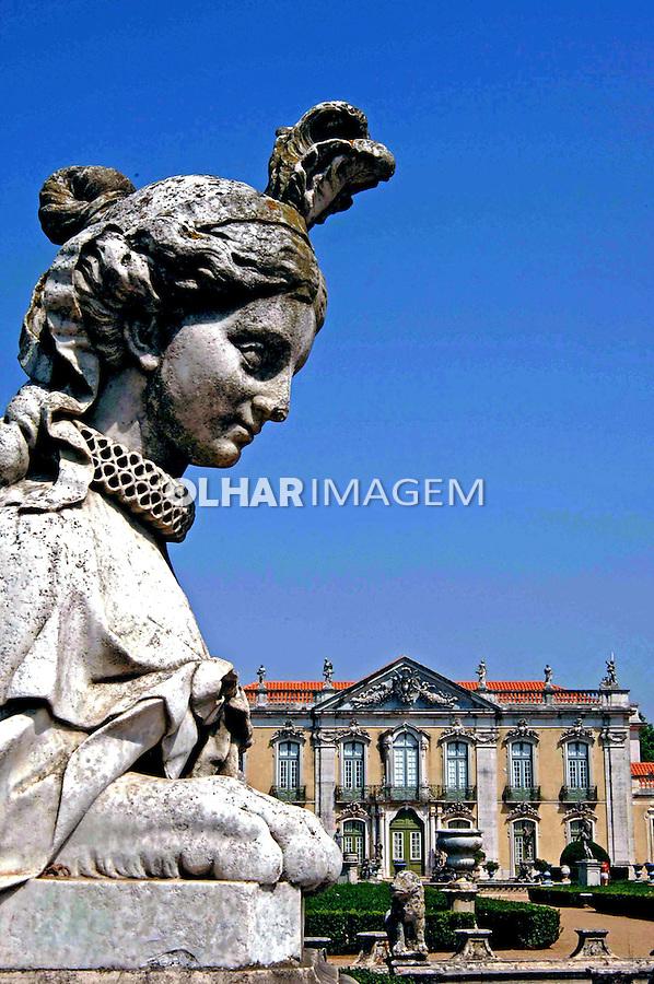Palácio de Queluz, residência de D. Pedro I. Portugal.  2005. Foto de Rogério Reis