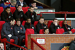 Wayne Rooney of Manchester United watches from the bench during the UEFA Europa League match at Old Trafford Stadium, Manchester. Picture date: September 29th, 2016. Pic Matt McNulty/Sportimage