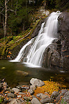 Moss Glen Falls in Granville, Vermont, New England, United States of America, North America