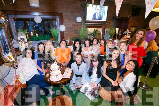 House of Glamour staff celebrating their first year in Business with a summer BBQ at Benners Hotel on Saturday