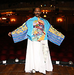 "T. Oliver Reid during the Actors' Equity Legacy Robe Ceremony honoring T. Oliver Reid for  ""Hadestown"" at the Walter Kerr Theatre on April 17, 2019  in New York City."