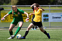 National Women's League - Capital v Canterbury United Pride at Petone Memorial Park, Lower Hutt, New Zealand on Saturday 2 November 2019. <br /> Photo by Masanori Udagawa.