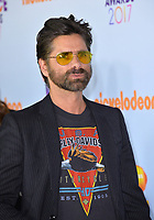 Actor John Stamos at the Nickelodeon 2017 Kids' Choice Awards at the USC's Galen Centre, Los Angeles, USA 11 March  2017<br /> Picture: Paul Smith/Featureflash/SilverHub 0208 004 5359 sales@silverhubmedia.com