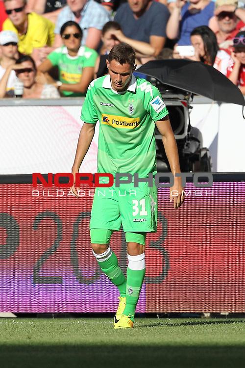 21.07.2013, Borussia Park, Moenchengladbach, GER, Telekom Cup 2013, Borussia M&ouml;nchengladbach vs FC Bayern M&uuml;nchen, im Bild<br /> Branimir Hrgota (Moenchengladbach #31)<br /> <br /> Foto &copy; nph / Mueller