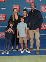 05 November 2018 - Hollywood, California - Melissa Joan Hart, Mark Wilkerson, Tucker McFadden Wilkerson, Braydon Hart Wilkerson, Mason Walter Wilkerson &quot;Ralph Breaks The Internet&quot; Los Angeles Premiere held at El Capitan Theater. <br /> <br /> CAP/ADM/FS<br /> &copy;FS/ADM/Capital Pictures