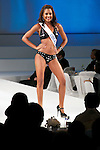 """Miss Curacao Chimay Damiany Ramos, November 11, 2014, Tokyo, Japan : Miss Curacao Chimay Damiany Ramos walks down the runway during """"The 54th Miss International Beauty Pageant 2014"""" on November 11, 2014 in Tokyo, Japan. The pageant brings women from more than 65 countries and regions to Japan to become new """"Beauty goodwill ambassadors"""" and also donates money to underprivileged children around the world thought their """"Mis International Fund"""". (Photo by Rodrigo Reyes Marin/AFLO)"""