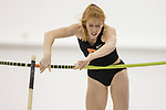 COLLEGE STATION, TX - MARCH 11: Allison Harris of Princeton competes in the pole vault during the Division I Men's and Women's Indoor Track & Field Championship held at the Gilliam Indoor Track Stadium on the Texas A&M University campus on March 11, 2017 in College Station, Texas. (Photo by Michael Starghill/NCAA Photos/NCAA Photos via Getty Images)