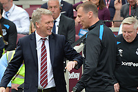 West Ham Manager David Moyes during West Ham United vs Everton, Premier League Football at The London Stadium on 13th May 2018