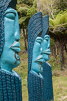 Blue faces. (Photo by Travel Photographer Matt Considine)