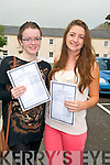 Presentation Convent, Listowel: Fiona Mahony & Rachel McKenna with their Leaving Cert results on Wednesday Morning.