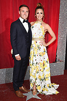 Allan Halsall &amp; wife Lucy Jo Hudson at The British Soap Awards at The Lowry in Manchester, UK. <br /> 03 June  2017<br /> Picture: Steve Vas/Featureflash/SilverHub 0208 004 5359 sales@silverhubmedia.com