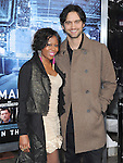 Michael Steger and wife at Summit Entertainment's L.A. Premiere of  Man on a Ledge held at The Grauman's Chinese Theatre in Hollywood, California on January 23,2012                                                                               © 2012 Hollywood Press Agency