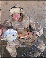 BNPS.co.uk (01202 558833)<br /> Pic: TimelessDeception/BNPS<br /> <br /> 2008 on patrol in helmund.<br /> <br /> A hardened medic in the Special Boat Service has made a drastic career change - after starting out as a professional magician. <br /> <br /> Steel Johnson quit his 10 year military career after enduring two hellish tours of Iraq and Afghanistan.<br /> <br /> The 32-year-old is now fulfilling his childhood dream of performing magic full-time. <br /> <br /> Steel, whose real name is James, has practiced sleight of hand tricks since the age of nine.