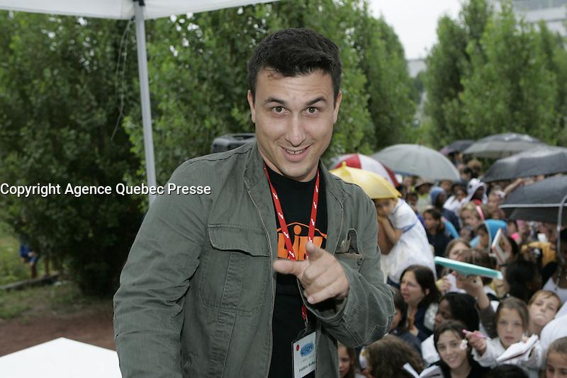 Montreal (Qc) CANADA - August 2009 20 file Photo : Vrak TV anti Gala at La Tohu :