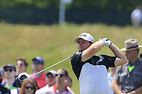 Tyrrell Hatton (ENG) tees off the 9th tee during Saturday's Round 3 of the 118th U.S. Open Championship 2018, held at Shinnecock Hills Club, Southampton, New Jersey, USA. 16th June 2018.<br /> Picture: Eoin Clarke | Golffile<br /> <br /> <br /> All photos usage must carry mandatory copyright credit (&copy; Golffile | Eoin Clarke)