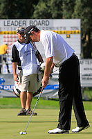 Peter Lawrie (IRL) during the final day of the  Andalucía Masters at Club de Golf Valderrama, Sotogrande, Spain. .Picture Denise Cleary www.golffile.ie