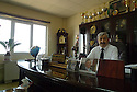 Iraq 2015 Dr.Walid M. Hamad, president of the university of Koysinjak in his office<br />