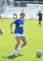 Kansas City, MO - Sunday September 04, 2016: Alex Arlitt prior to a regular season National Women's Soccer League (NWSL) match between FC Kansas City and the Sky Blue FC at Swope Soccer Village.