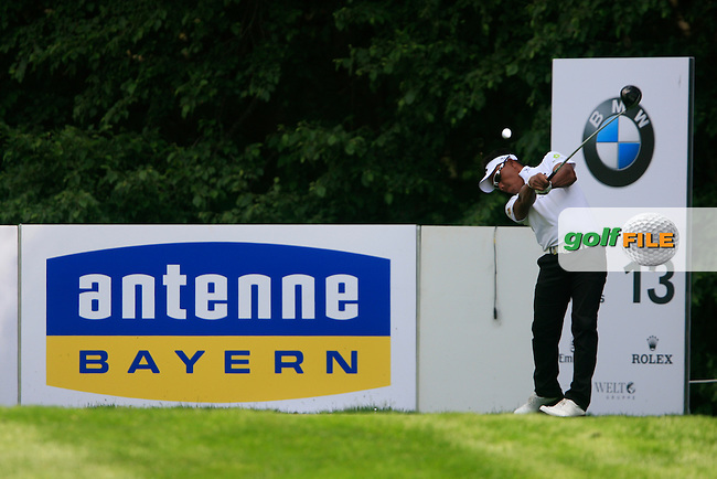 Thongchai Jaidee (THA) tees off on the 13th tee during Day 2 of the BMW International Open at Golf Club Munchen Eichenried, Germany, 24th June 2011 (Photo Eoin Clarke/www.golffile.ie)