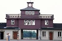Deutschland, Konzentrationslager Buchenwald in Thüringen