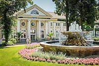 Germany, Rhineland-Palatinate, Ahr-Valley, Bad Neuenahr-Ahrweiler, district Bad Neuenahr: the Thermal-Bathhouse | Deutschland, Rheinland-Pfalz, Ahrtal, Bad Neuenahr-Ahrweiler, Stadtteil Bad Neuenahr: das Thermal-Badehaus