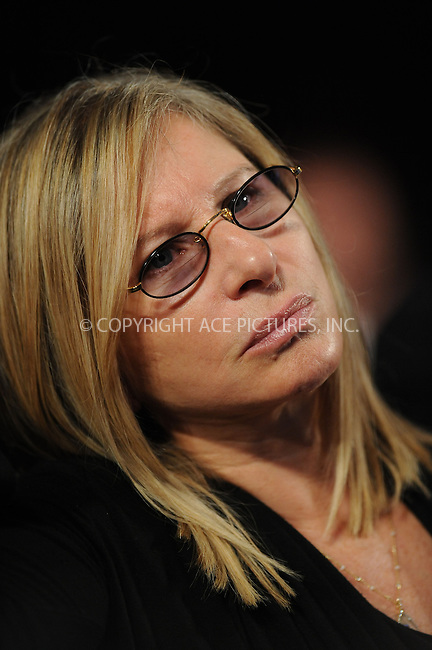 WWW.ACEPIXS.COM . . . . . ....September 23 2009, New York City....Actress Barbra Streisand at the Clinton Global Initiative on September 23 2009 in New York City....Please byline: KRISTIN CALLAHAN - ACEPIXS.COM.. . . . . . ..Ace Pictures, Inc:  ..tel: (212) 243 8787 or (646) 769 0430..e-mail: info@acepixs.com..web: http://www.acepixs.com