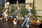 Willamette Valley Vineyards annual Grape Stomp festival; Turner, Oregon..#9035-121