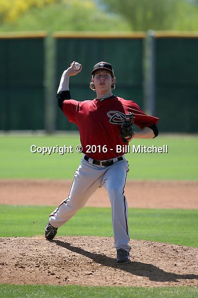 Brent Jones - Arizona Diamondbacks 2016 spring training (Bill Mitchell)