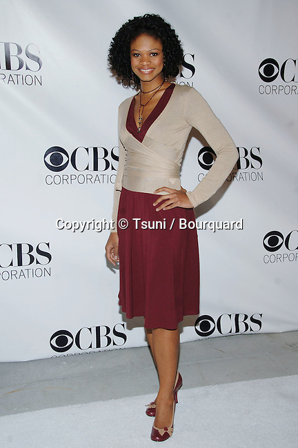 Kimberly Elise arriving at the CBS - Paramount - UPN - Showtime Party at the Wind Tunnel in Pasadena. January 18, 2006.