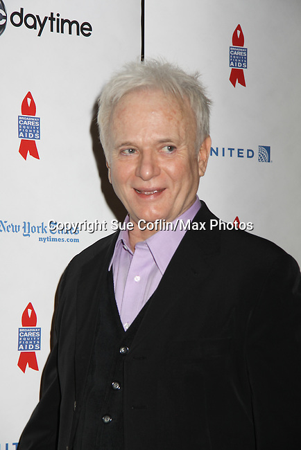 General Hospital Tony Geary at ABC Daytime Salutes Broadway Cares/Equity Fights Aids - The Grand Finale Celebration on March 13, 2011 with a musical show at Town Hall, New York City, New York followed by an after party at the New York Marriott Marquis. (Photo by Sue Coflin/Max Photos)