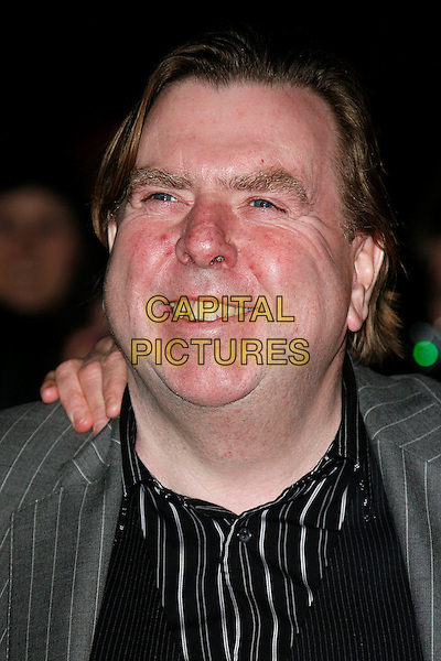"TIMOTHY SPALL.""Sweeney Todd: The Demon Barber of Fleet Street"" European film premiere, Odeon cinema, Leicester Square, London, England..January 10th, 2008 .headshot portrait .CAP/DAR.©Darwin/Capital Pictures"