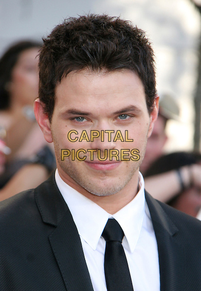 "KELLAN LUTZ .attends the 2010 Los Angeles Film Festival Premiere of ""The Twilight Saga: Eclipse"" at the Nokia Theatre L.A. Live, Los Angeles, CA, USA, June 24th, 2010..portrait headshot black tie white shirt .CAP/LNC/KR.©Kuroda/LNC/Capital Pictures."