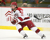 Marshall Everson (Harvard - 21) - The Harvard University Crimson defeated the St. Lawrence University Saints 4-3 on senior night Saturday, February 26, 2011, at Bright Hockey Center in Cambridge, Massachusetts.