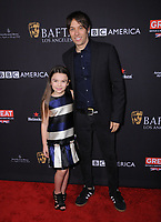 06 January 2018 - Beverly Hills, California - Brooklynn Prince, Shawn Baker. 2018 BAFTA Tea Party held at The Four Seasons Los Angeles at Beverly Hills in Beverly Hills.    <br /> CAP/ADM/BT<br /> &copy;BT/ADM/Capital Pictures