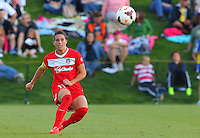 BOYDS, MD - May 03, 2014: Washington Spirit v Seattle Reign in a NWSL match at Maryland Sportsplex, in Boyds, Maryland. Seattle won 2-1.