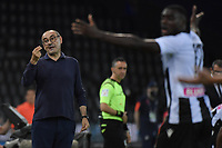 Maurizio Sarri, Juventus coach,<br /> during the Serie A football match between Udinese Calcio and Juventus FC at Friuli stadium in Udine <br />  (Italy), July 23th, 2020. Play resumes behind closed doors following the outbreak of the coronavirus disease. Photo Federico Tardito / Insidefoto