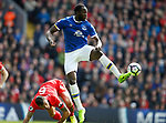 Romelu Lukaku of Everton during the English Premier League match at Anfield Stadium, Liverpool. Picture date: April 1st 2017. Pic credit should read: Simon Bellis/Sportimage