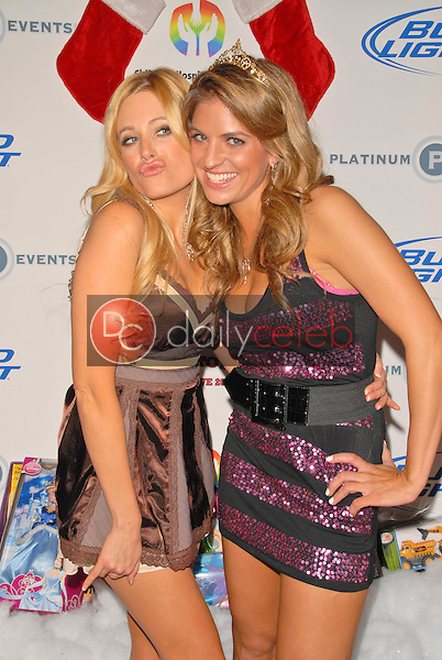 Holly King and Bridgetta Tomarchio<br /> at Bridgetta Tomarchio B-Day Bash and Babes in Toyland Toy Drive, Lucky Strike, Hollywood, CA. 12-04-09<br /> David Edwards/Dailyceleb.com 818-249-4998