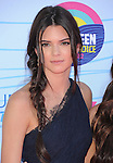 Kendall Jenner  at FOX's 2012 Teen Choice Awards held at The Gibson Ampitheatre in Universal City, California on July 22,2012                                                                               © 2012 Hollywood Press Agency