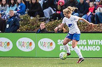 Allston, MA - Saturday, May 07, 2016: Boston Breakers midfielder McCall Zerboni (77) during a regular season National Women's Soccer League (NWSL) match at Jordan Field.