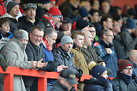 Stevenage Fans  during Stevenage vs Reading, Emirates FA Cup Football at the Lamex Stadium on 6th January 2018