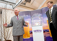 05 April 2019 - rince Charles, Prince of Wales during an official visit to St Austell Brewery in St Austell, Cornwall. Photo Credit: ALPR/AdMedia