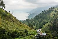 Lake Toba (Danau Toba), the largest volcanic lake in the world, North Sumatra, Indonesia