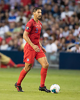 KANSAS CITY, KS - JUNE 26: Omar Gonzalez #3 during a game between United States and Panama at Children's Mercy Park on June 26, 2019 in Kansas City, Kansas.